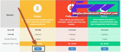 cara memesan hosting di jasa hosting indonesia