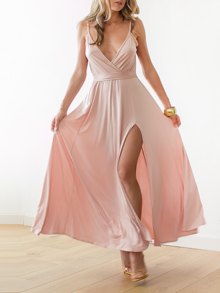 https://www.stylewe.com/product/pink-evening-plain-maxi-dress-49791.html