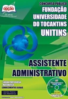 Apostila UNITINS 2014 - Fundação Universidade do Tocantins