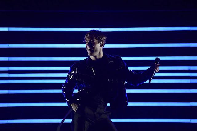 Benjamin Ingrosso en la final de Eurovisión
