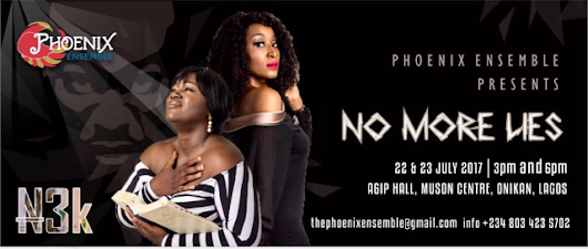 NO MORE LIES STAGE PLAY BY AWOBA BOB-MANUEL
