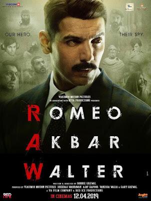 Romeo Akbar Walter (RAW) 2019 Hindi Pre-DVDRip 700MB