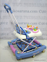 D 2 in One Royal RY8188 Circus Baby Walker and Rocker