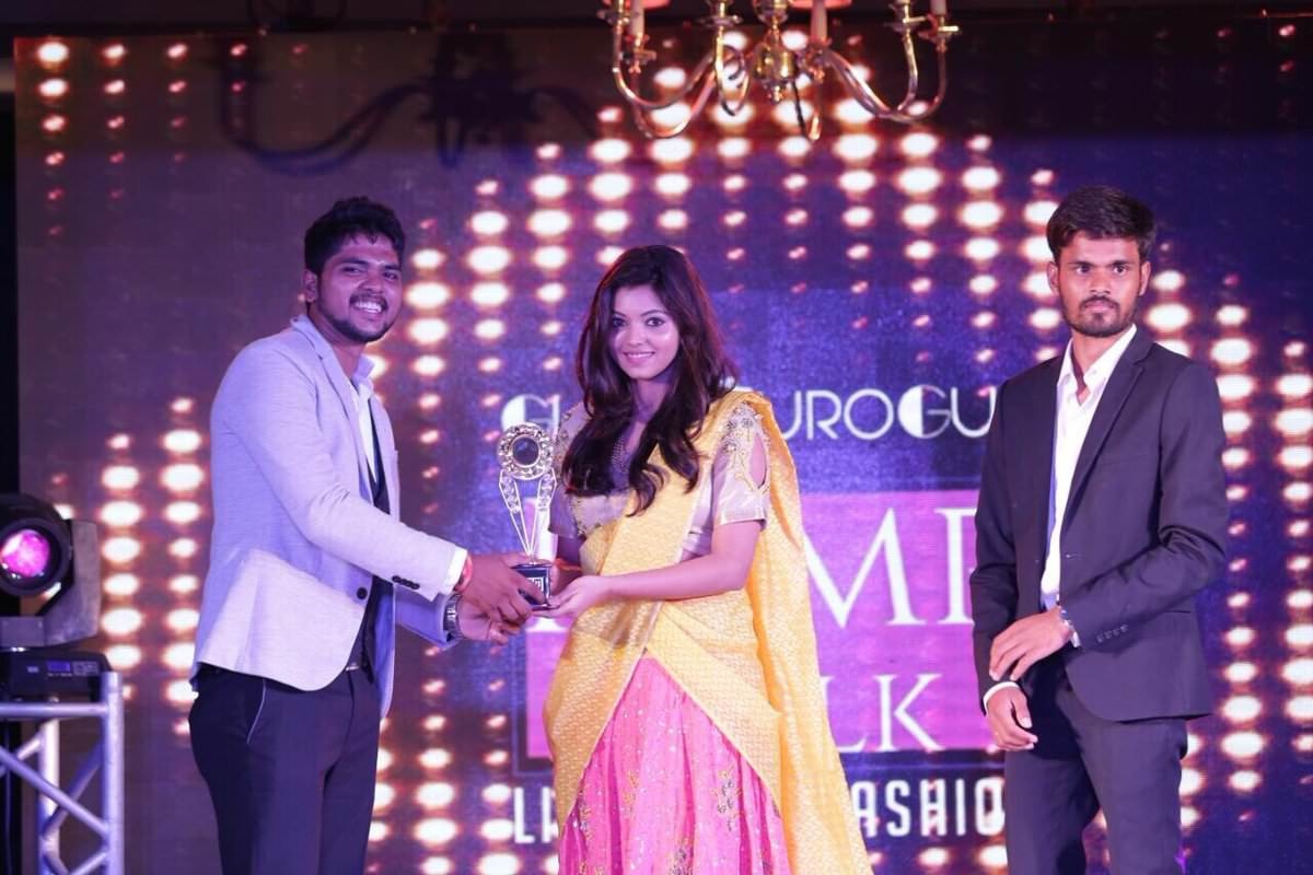 Athulya Ravi at Glamourogue Magazine launch
