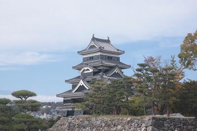 Foto del castillo de Matsumoto