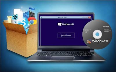طريقتين لتثبيت Windows جديد دون فقدان البرامج و الملفات القديمة