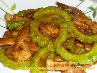 Chicken and Ampalaya with Oyster Sauce