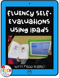 Reading Fluency Self-evaluations Using iPads With Free Rubric. Teachers, are you looking for ideas & activities for fluency practice? Students will record themselves reading using one of the many free voice recording apps and then make a plan to improve after completing a self assessment. My 2nd graders completed these in reading centers at least once a month and it really helped them reach their reading goals!