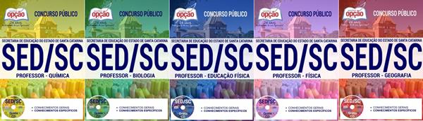 Apostila concurso SED-SC 2017: material de estudo