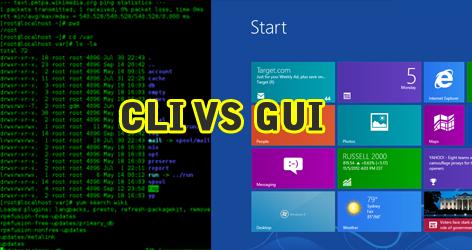 Pengertian CLI dan GUI