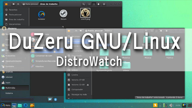 DuZeru GNU/Linux no DistroWatch