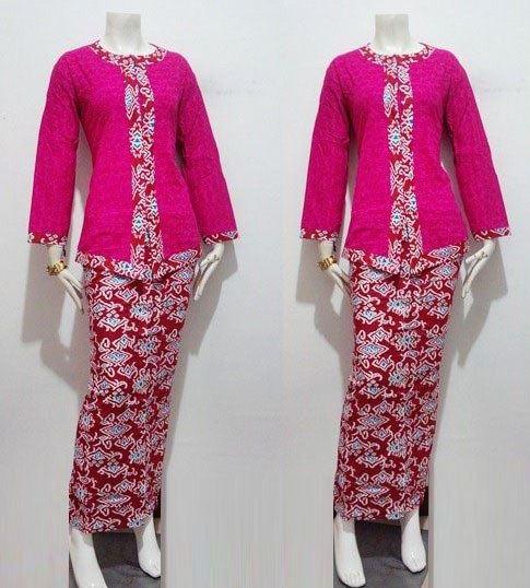 Baju Batik Kombinasi Batik: 25+ Contoh Model Baju Batik Kombinasi 2 Motif 2020