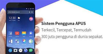 Apus Launcher - Aplikasi Tema Android Ringan