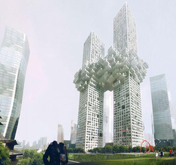 Gedung awan tertinggi unik versi Korea
