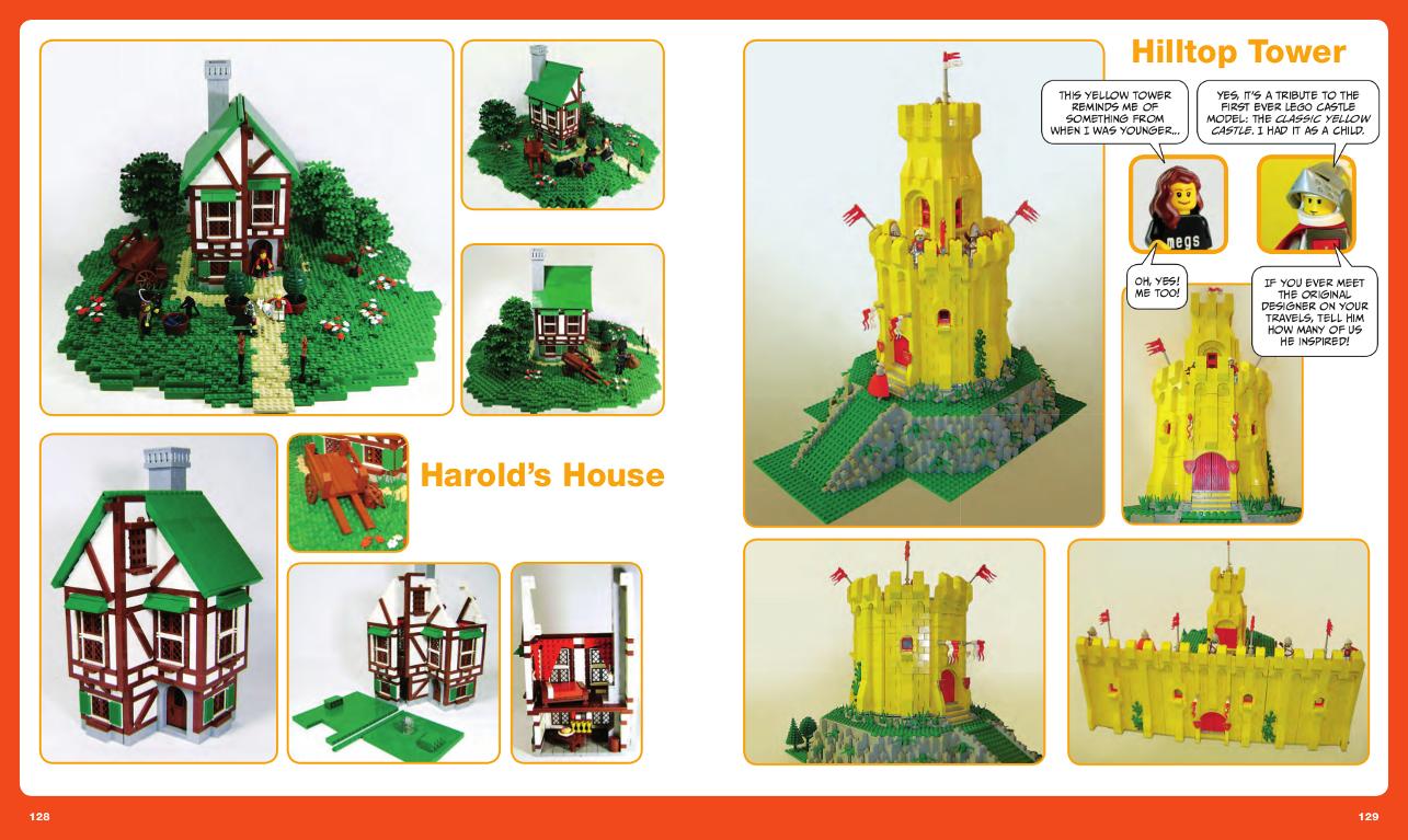 Lego Builders Book