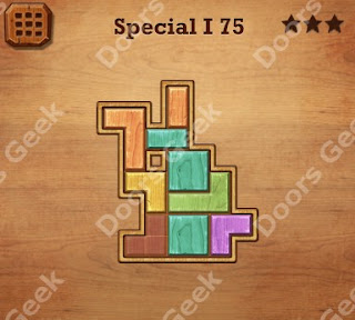 Cheats, Solutions, Walkthrough for Wood Block Puzzle Special I Level 75