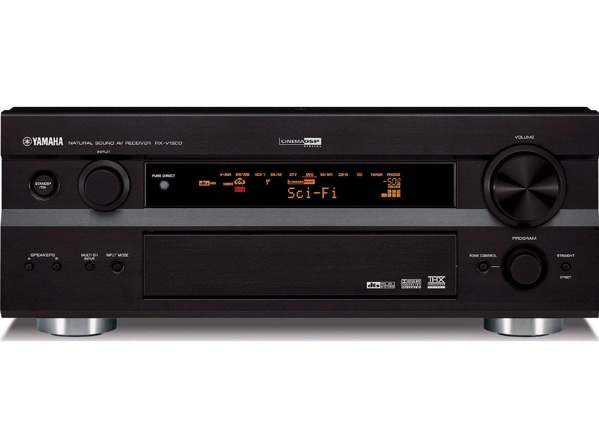 yamaha rx v1500 av receiver audiobaza. Black Bedroom Furniture Sets. Home Design Ideas