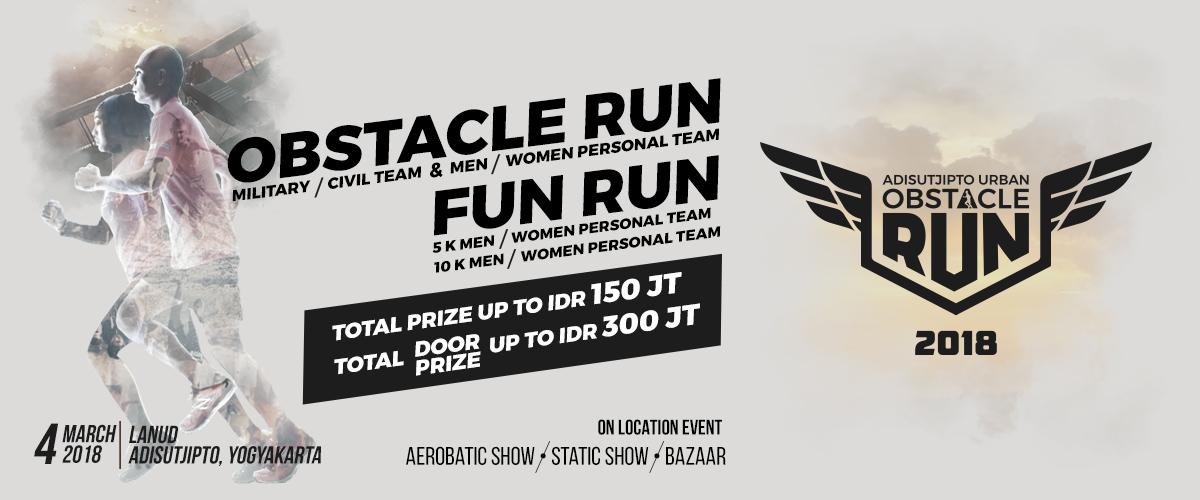 Adisutjipto Urban Obstacle Run • 2018