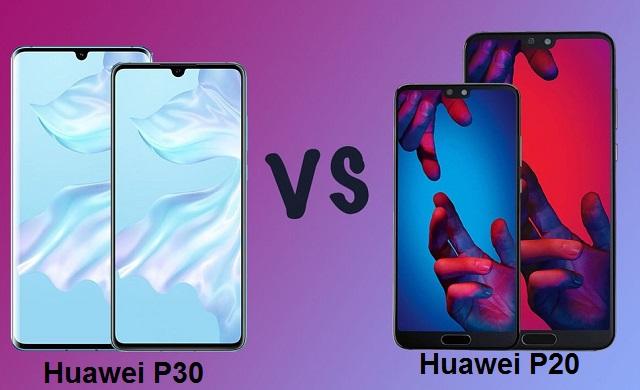 huawei-p30-vs-huawei-p20-comparison