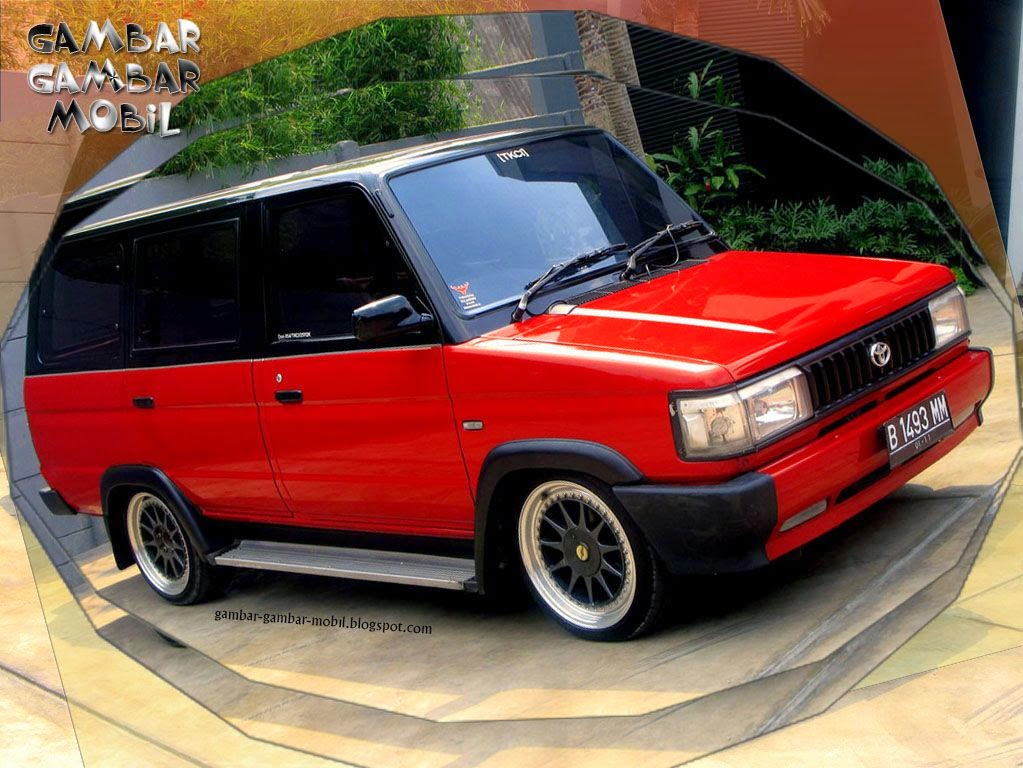 Toyota Kijang Grand Extra th 96 Warna biru metalik