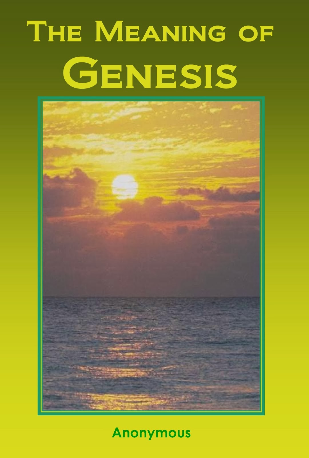 Meaning of Genesis (Free Book)