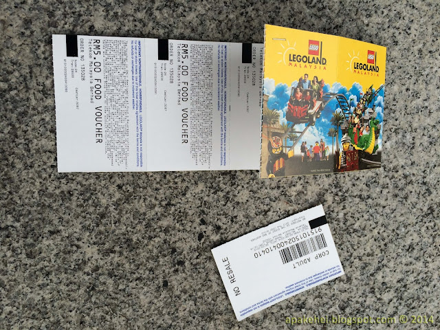 Legoland tickets and vouchers