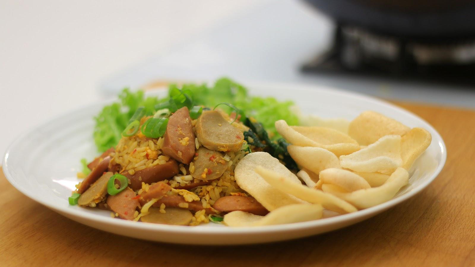 Artikel tentang cara membuat Nasi Goreng Spesial Gila ...