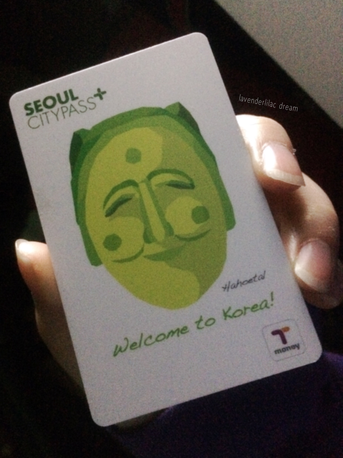 Seoul South Korea T Money Card