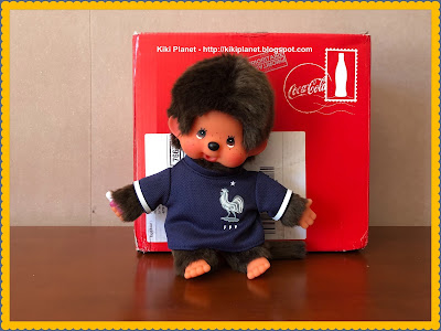 kiki monchhichi, coupe du monde, football, 2018, foot, match toys supporter coca cola