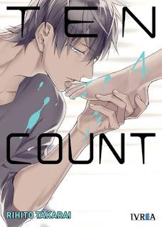 """Manga: Reseña de """"Ten Count #4"""" de Rihito Takarai - Editorial Ivrea"""