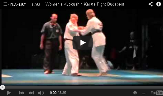 women s kyokushin karate fight budapest mixed martial arts