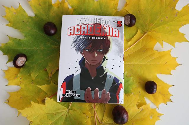 Kohei Horikoshi - My Hero Academia. Akademia Bohaterów t.5