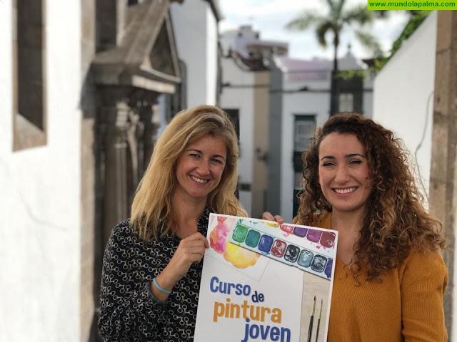 La Concejalía de Juventud organiza cursos gratuitos de pintura en diferentes técnicas