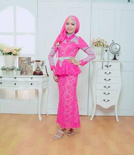 Model Kebaya Pesta Muslimah
