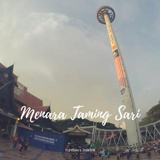 tempat wisata menarik di Melaka - menara taming sari