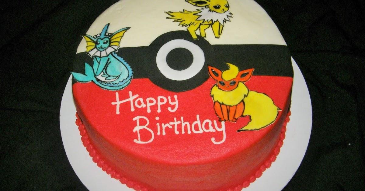 Mrs Lydia S Kitchen Pokemon Birthday Cake
