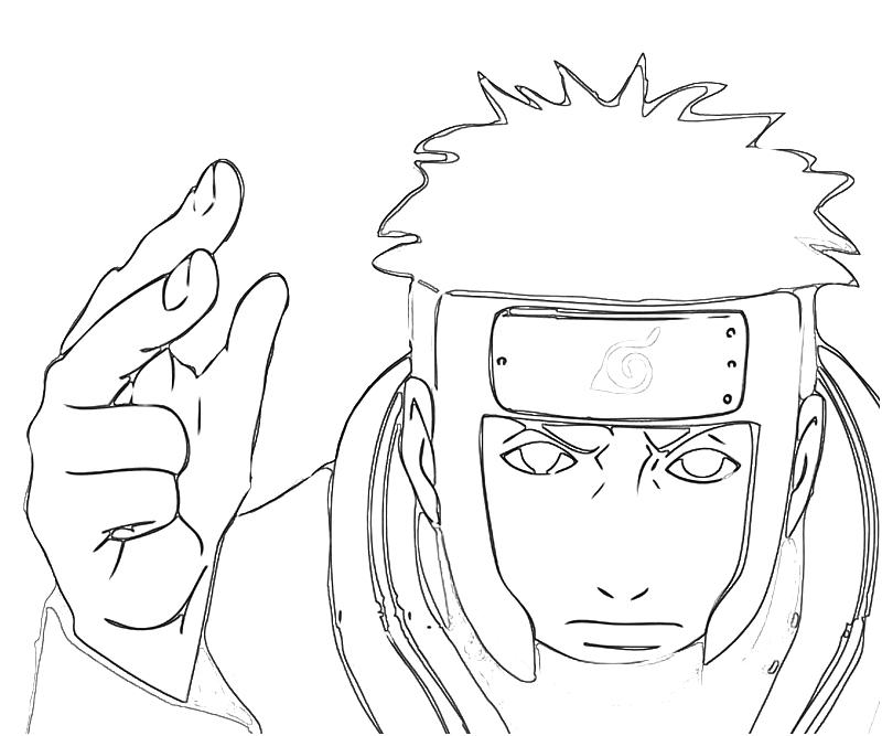Top 25 Free Printable Naruto Coloring Pages Online | 667x800