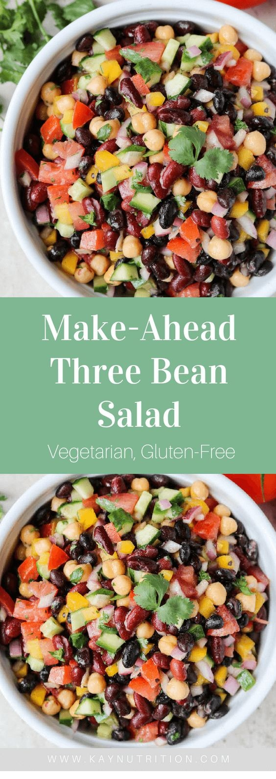 Make-Ahead Three Bean Salad
