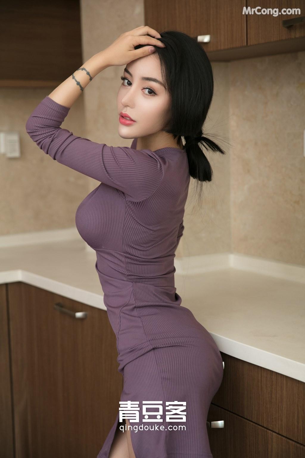 Image QingDouKe-2017-11-22-Lu-Zi-Qi-MrCong.com-004 in post QingDouKe 2017-11-22: Người mẫu Lu Zi Qi (陆梓琪) (51 ảnh)