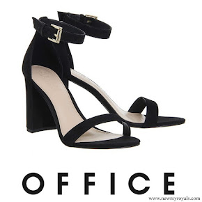 Kate Middleton wore Office Nina Block Heel Sandals