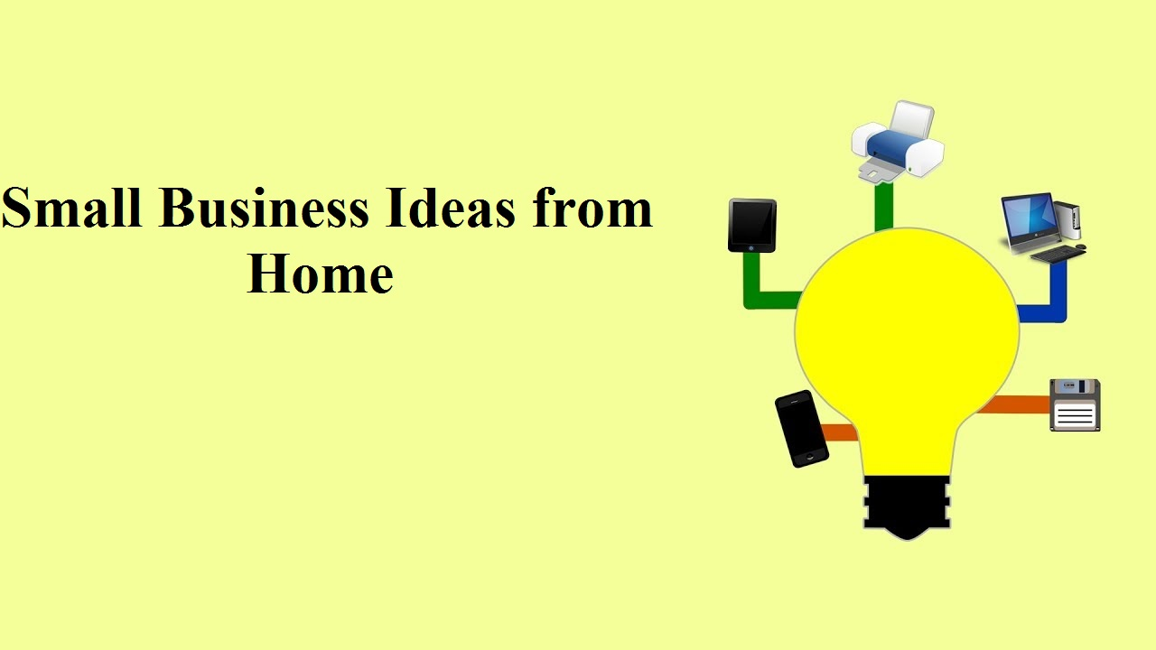 how to find small business ideas from home