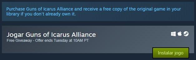 DominioGamer - GUNS of Icarus Alliance
