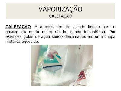 Tipos de vaporização