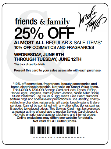 graphic about Lord and Taylor Printable Coupon identified as Lord and taylor coupon codes inside of retail store printable - Bob evans