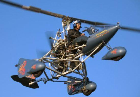 Super Sky Cycle mobil terbang yang berhasil mengudara