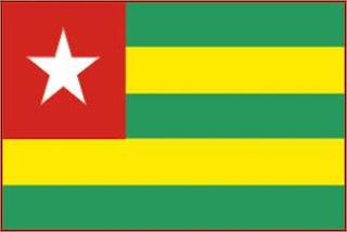 Bandeira de Togo