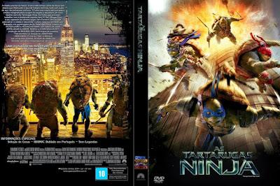 Filme As Tartarugas Ninja 3D Half-SBS 1080p DVD Capa