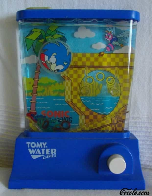 Tomy Water Games Vintage Toys Waterful Wonderful Jeu D Eau 80s Tomy Water Games Sonic The Hedgehog
