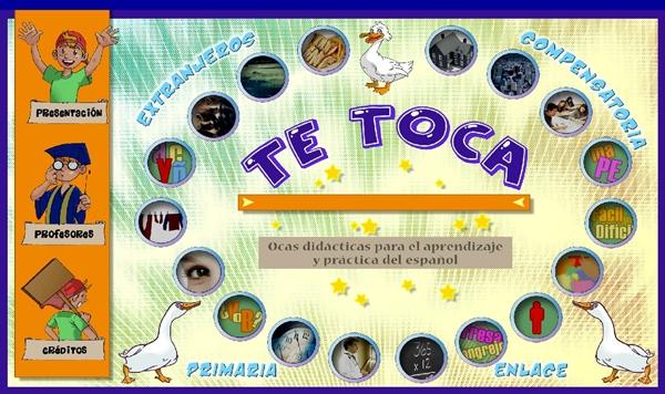 Juegos Educativos Online Gratis Te Toca A La Oca