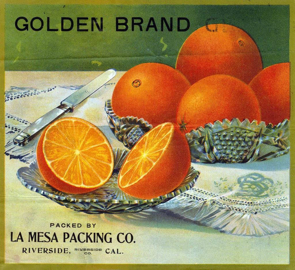 Parts Of An Orange Fruit Diagram 1990 Honda Civic Radio Wiring Art And Artists Citrus Crate Labels Part 1